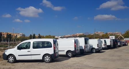 Financiacion de furgonetas desde 100 euros al mes.